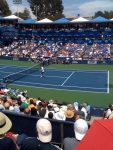 Murray up one set at Farmers Classic @farmersclassic