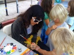 Best face painter in the world is at our farmers market #marvista
